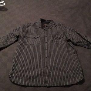 Men's button down shirt